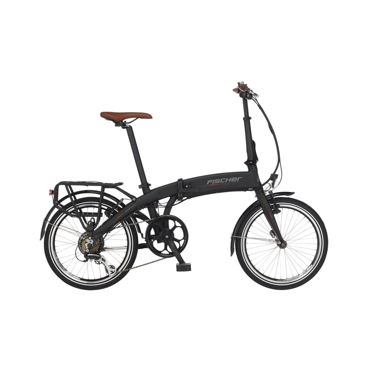 Fischer Bikes E-Faltrad, schwarz
