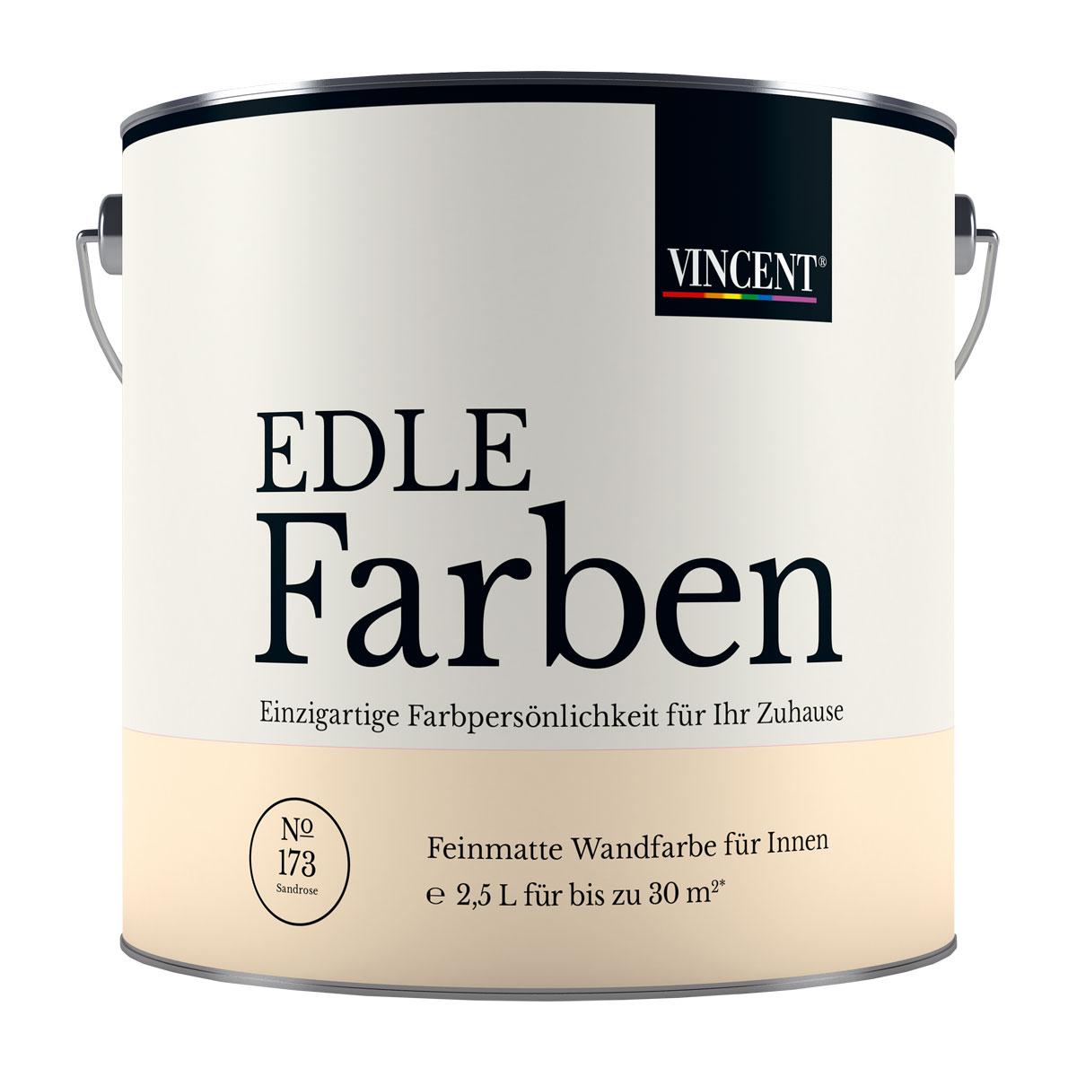 "VINCENT Edle Farbe ""Sandrose"", 2,5 L"