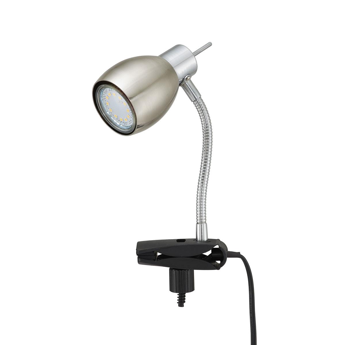 """Tischleuchten - LED Klemmleuchte """"Pinch"""", matt  - Onlineshop Hellweg"""