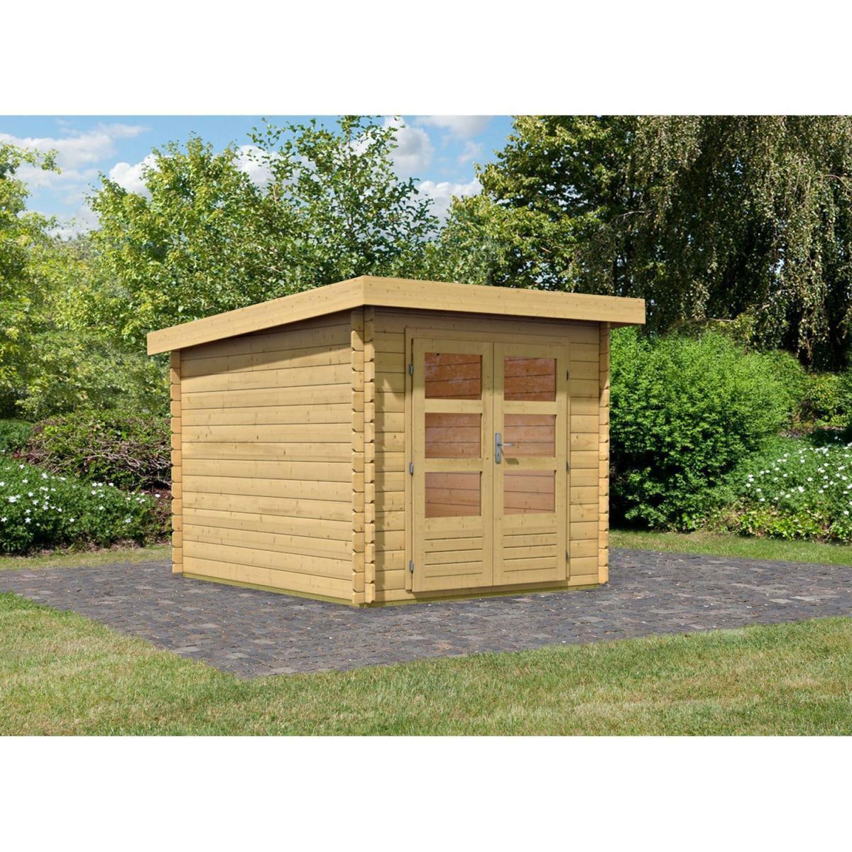 Woodfeeling Bastrup 4 Gartenhaus, naturbelasen