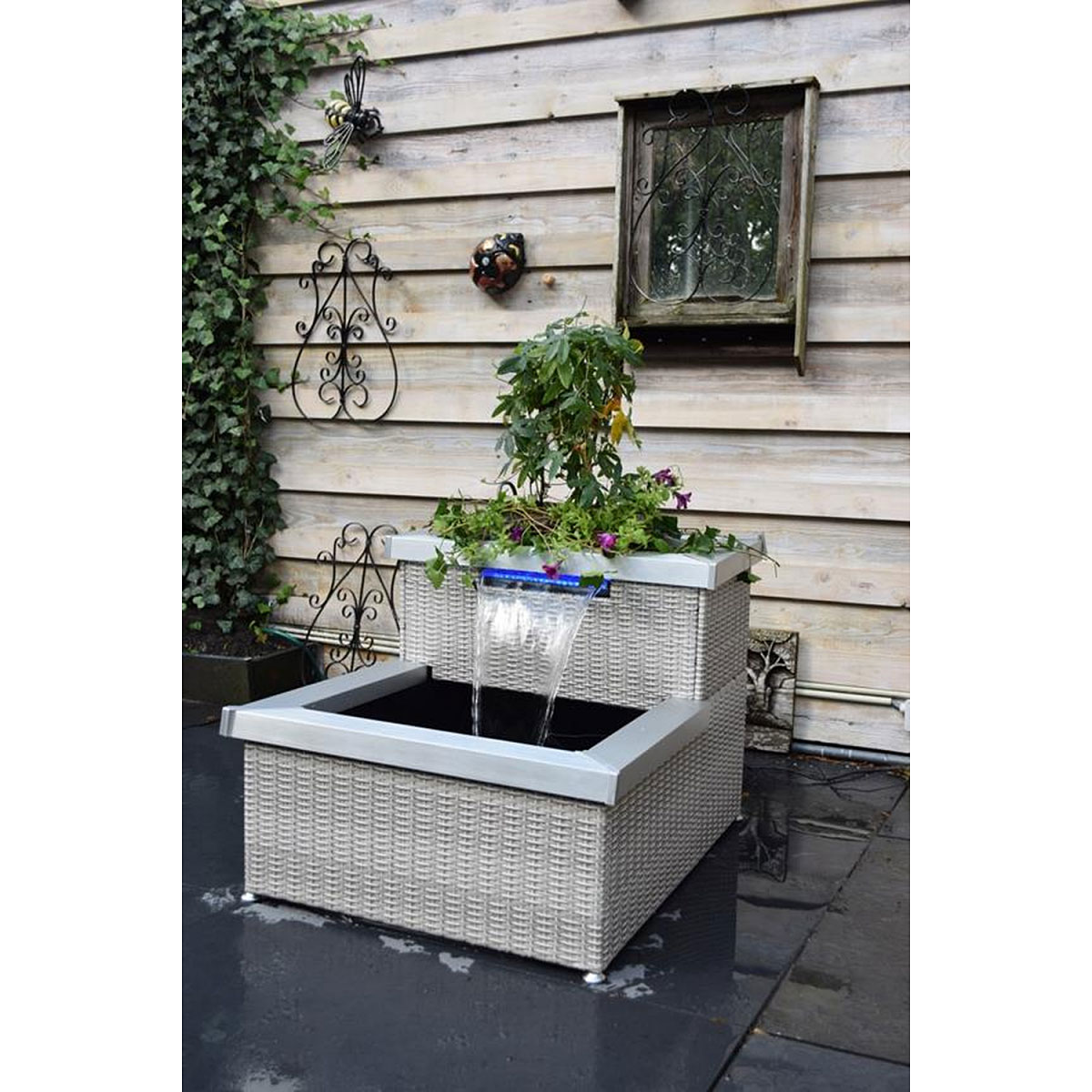 "Gartendekoration - Terassenteich ""Aveiro"", faltbar  - Onlineshop Hellweg"