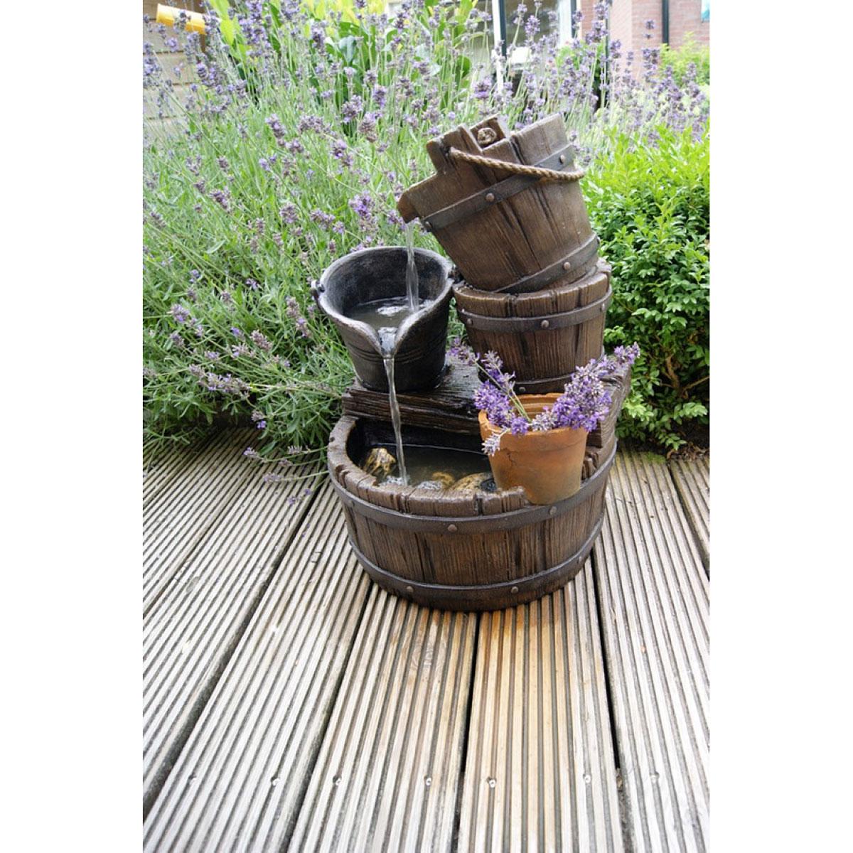 """Gartendekoration - Wasserspiel Set """"Halifax"""" inkl. Pumpe  - Onlineshop Hellweg"""