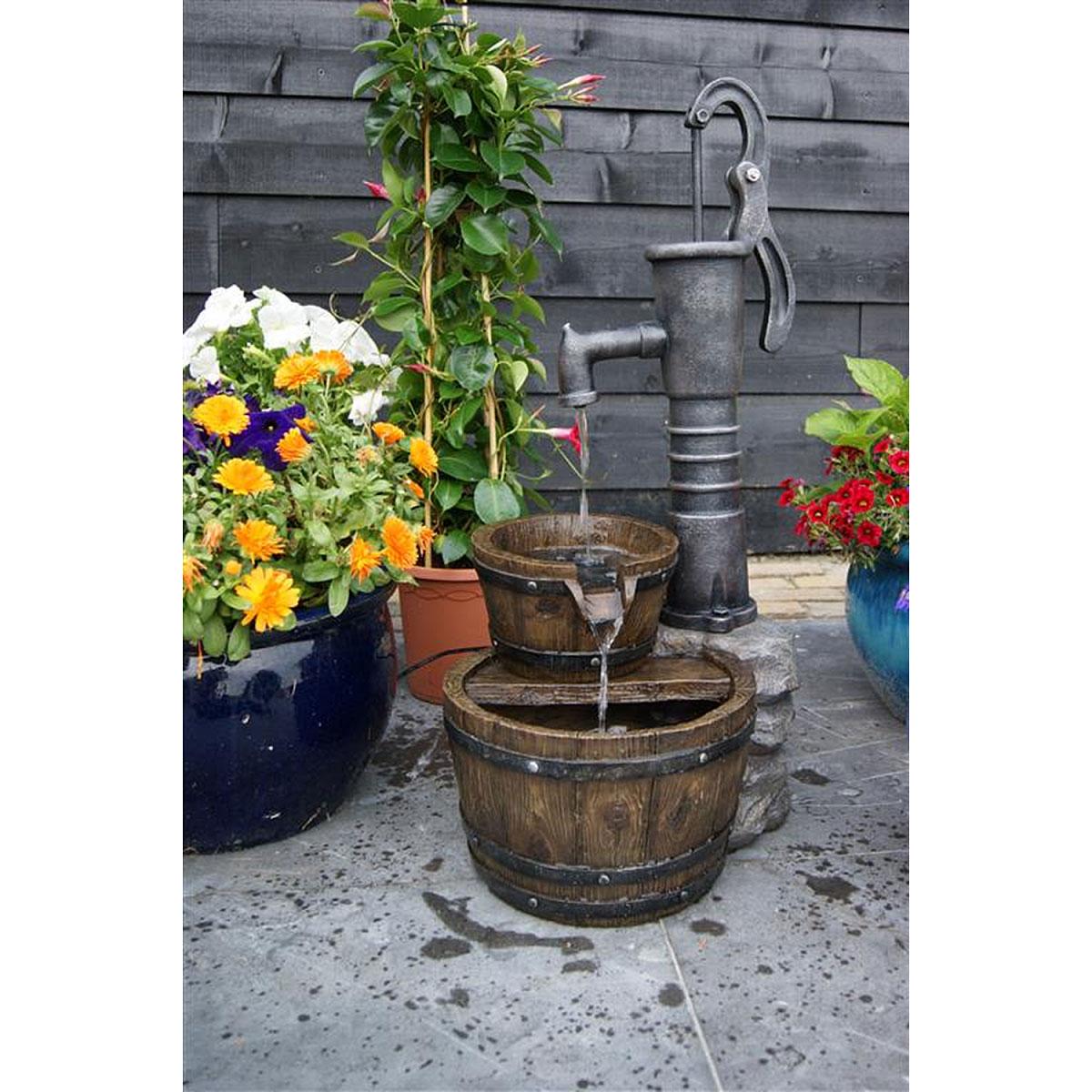 "Gartendekoration - Wasserspiel Set ""Las Vegas"" inkl. Pumpe  - Onlineshop Hellweg"