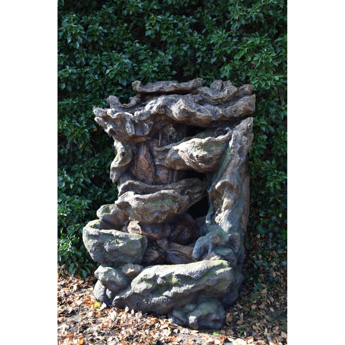 "Gartendekoration - Wasserfall Set ""Dallas"" inkl. Pumpe  - Onlineshop Hellweg"