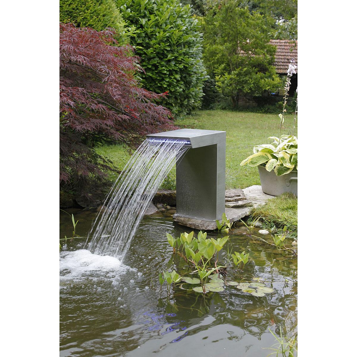 "Gartendekoration - Wasserfall""Straight"" inkl. LED Beleuchtung  - Onlineshop Hellweg"