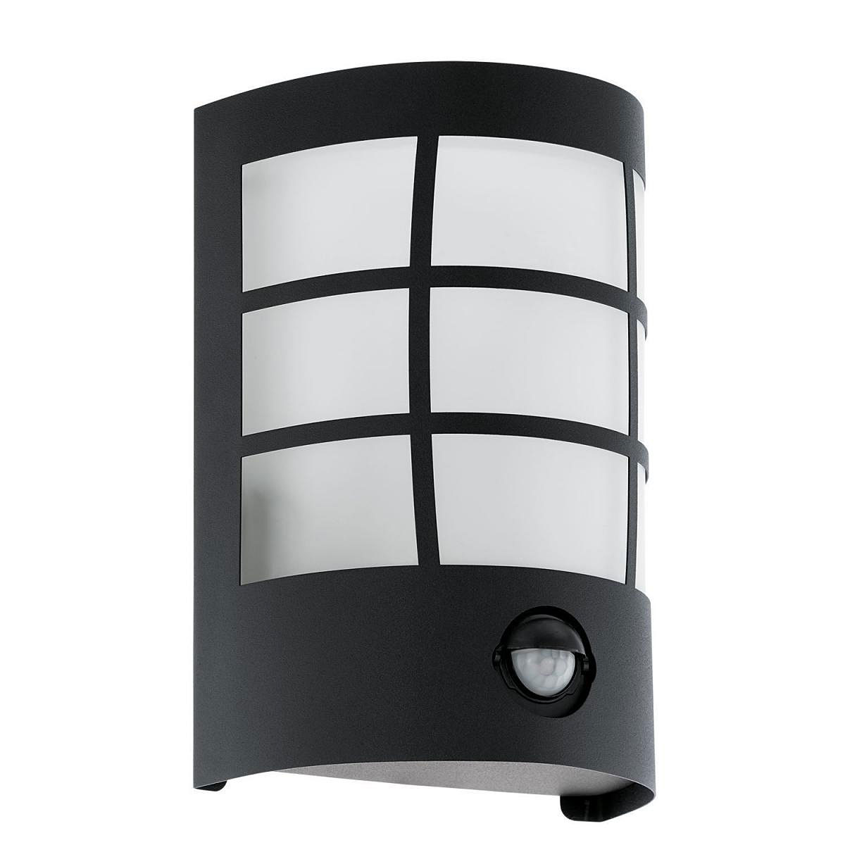 """Außenwandleuchten - LED Außenwandleuchte """"Cerno 1"""", mit Sensor, schwarz  - Onlineshop Hellweg"""