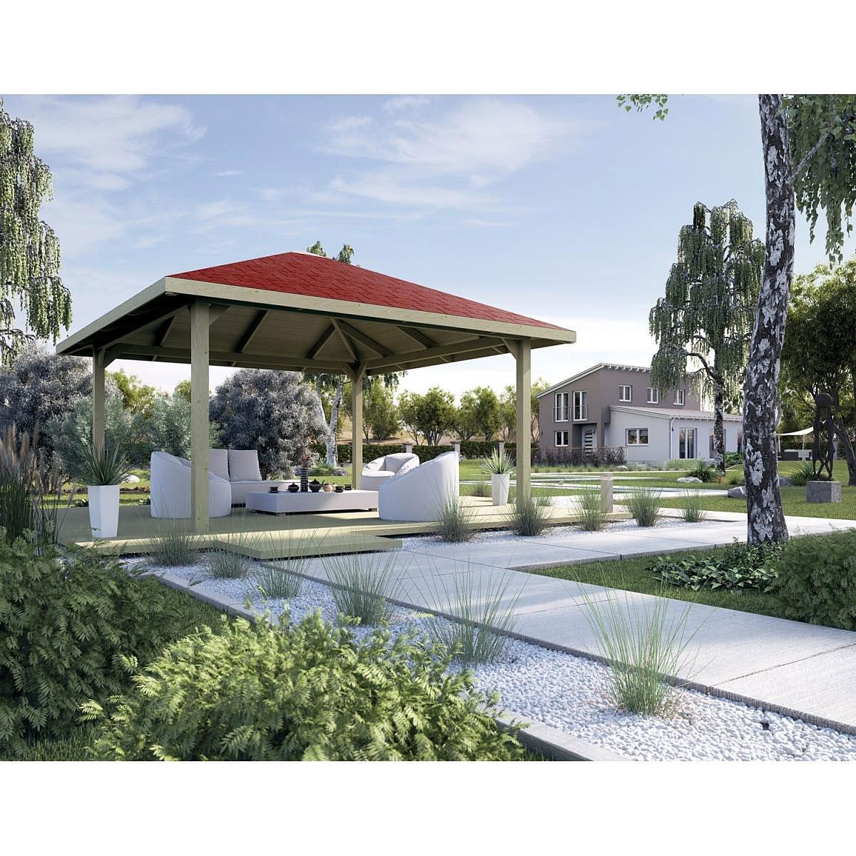 """Pavillons - Holzpavillon """"651 A"""" Gr.1 2  - Onlineshop Hellweg"""