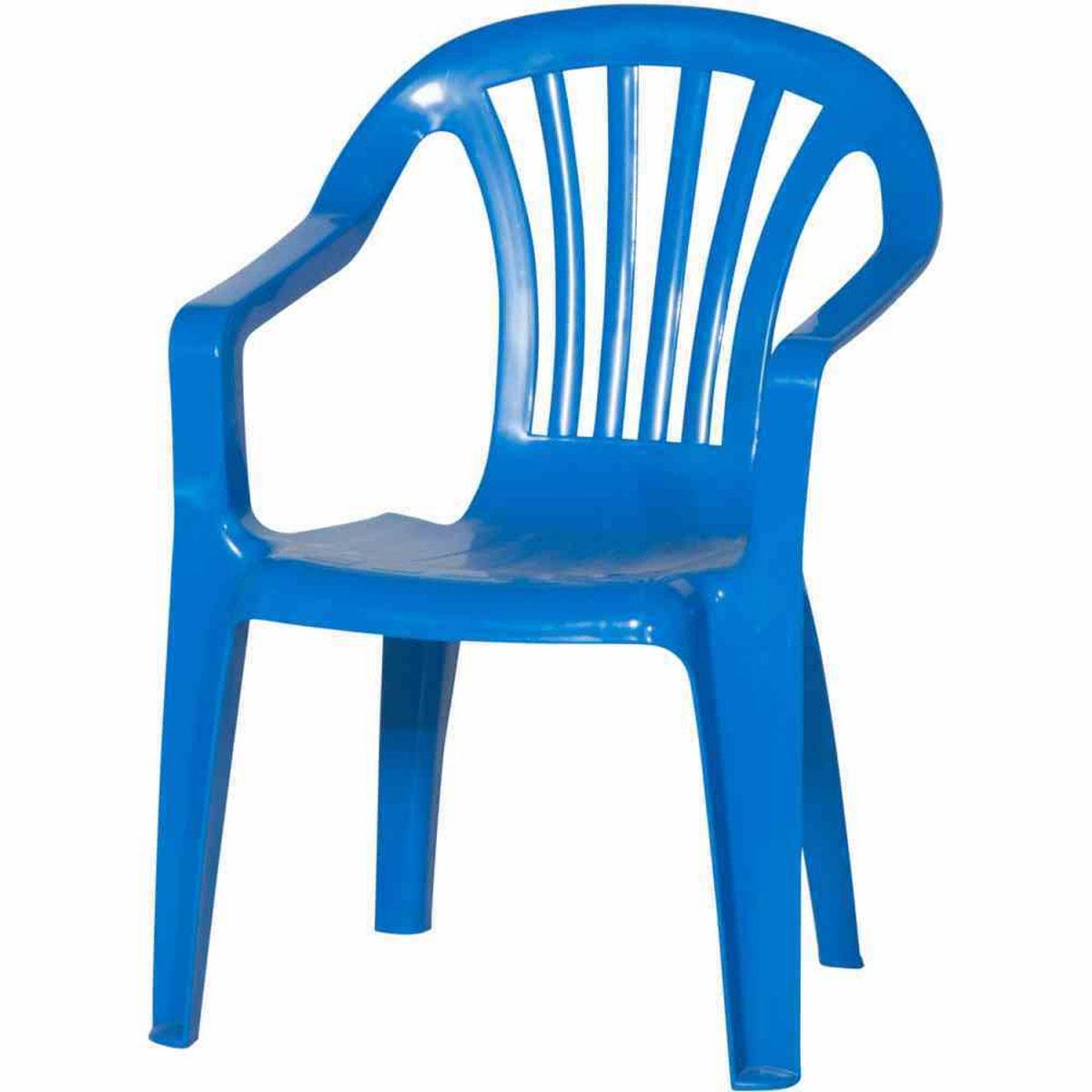 Gartenstühle - Kinder Gartenstuhl, Monoblock, blau  - Onlineshop Hellweg