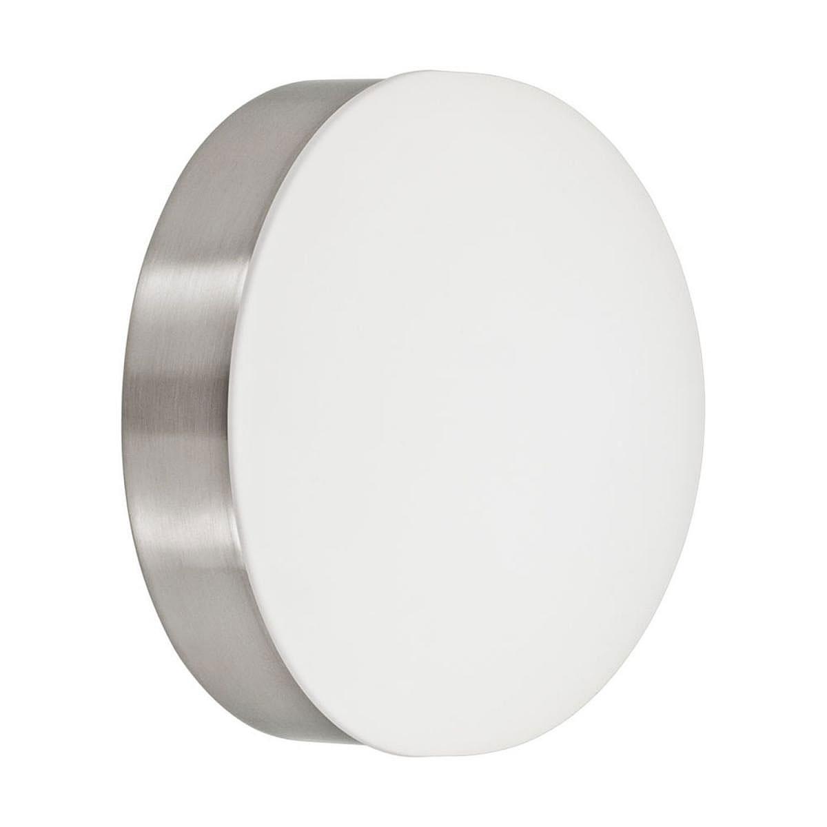 """Wandleuchten - LED Wandleuchte """"Cupella"""", nickel matt weiß  - Onlineshop Hellweg"""