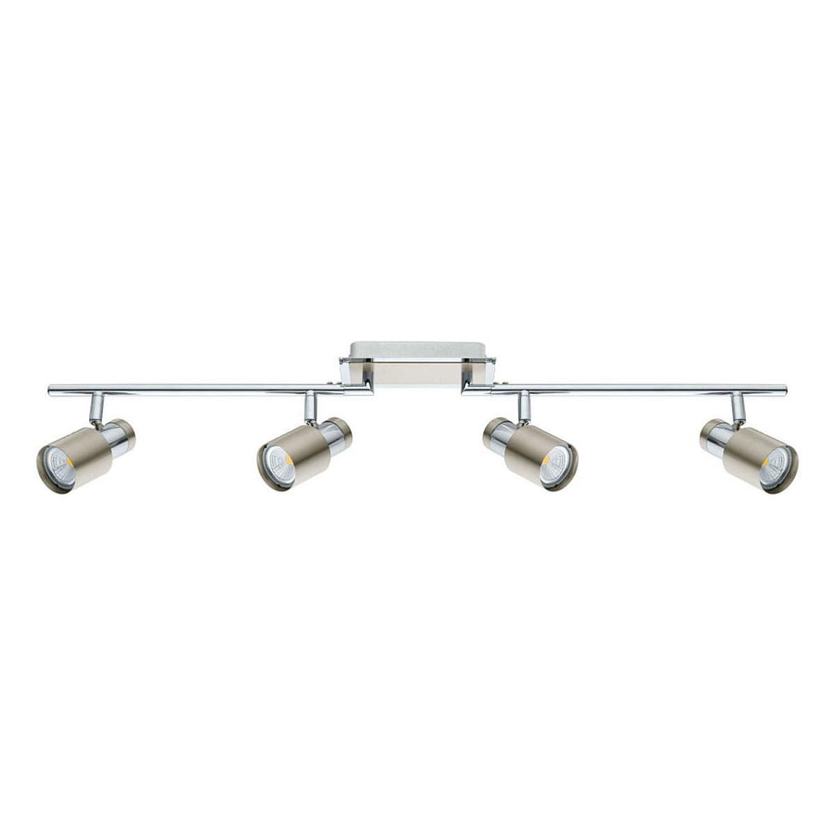 "LED-Spot ""Davida-SD"", 4x5 W, chrom/nickel-matt | Lampen > Strahler und Systeme > Strahler und Spots | Eglo"