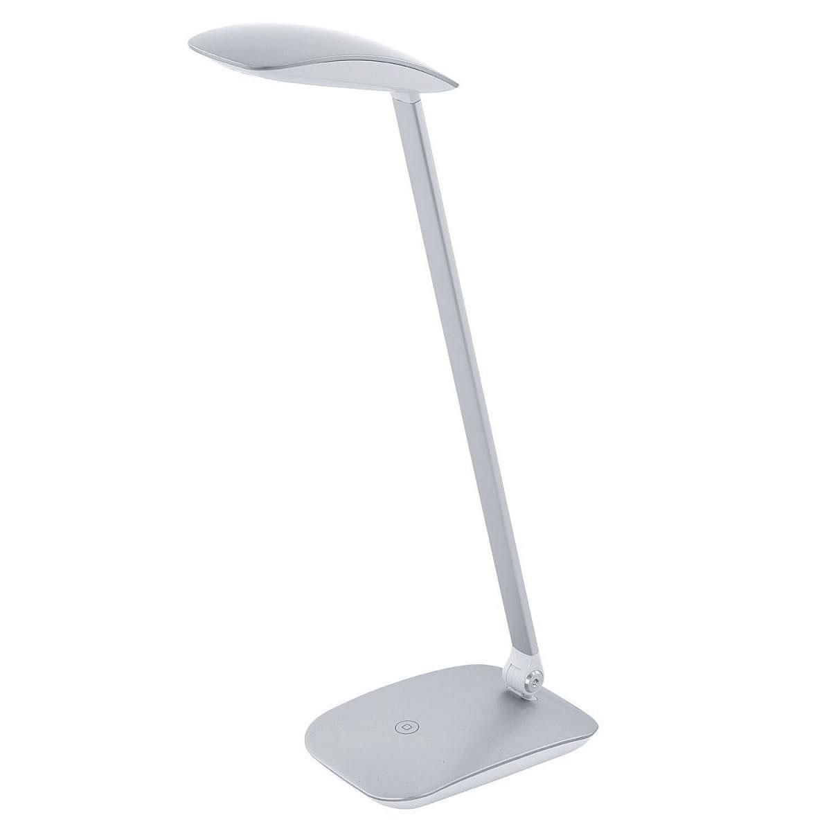"""Tischleuchten - LED Tischleuchte """"Cajero"""" mit Touch USB, silber  - Onlineshop Hellweg"""