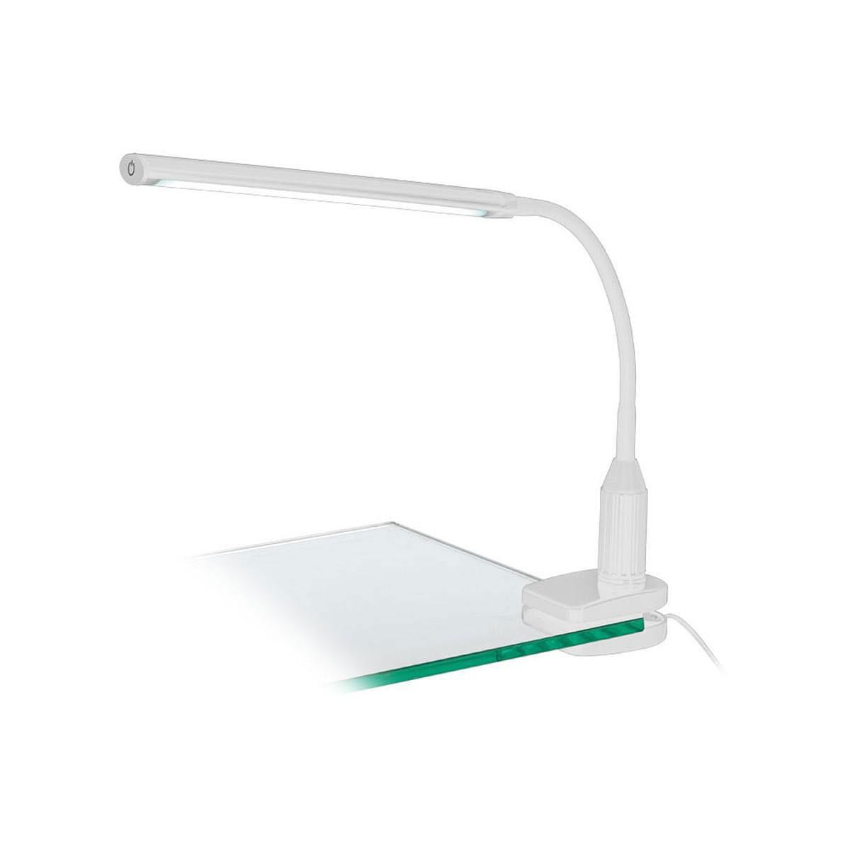 """Tischleuchten - LED Klemmleuchte """"Laroa"""", weiß  - Onlineshop Hellweg"""