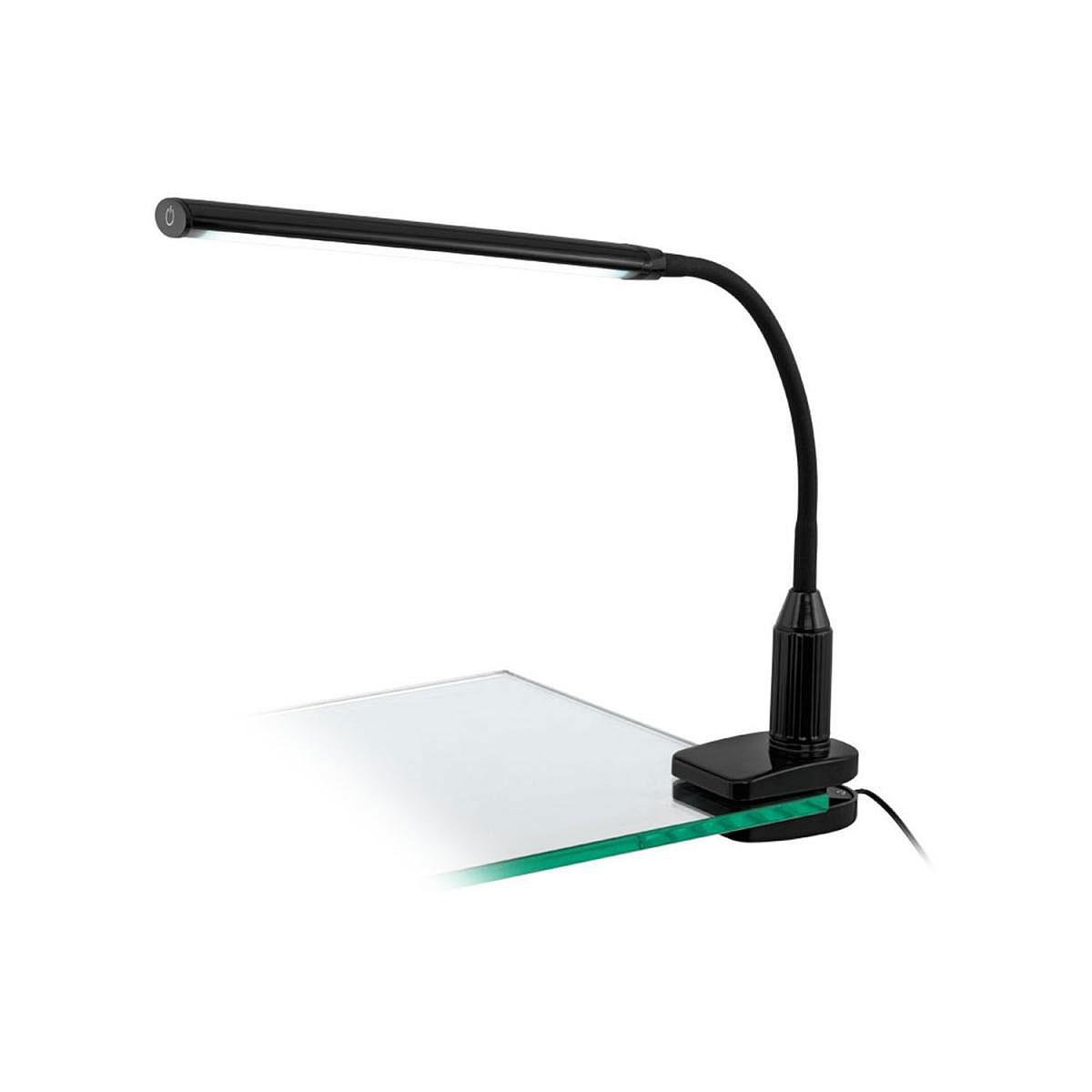 """Tischleuchten - LED Klemmleuchte """"Laroa"""", schwarz  - Onlineshop Hellweg"""