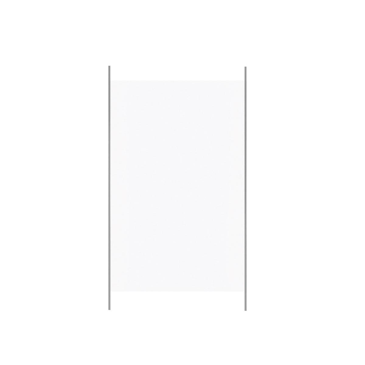 Durabil Glas-Windschutz 6 mm 976x1600mm Alu, Einscheibensicherheitsglas klar