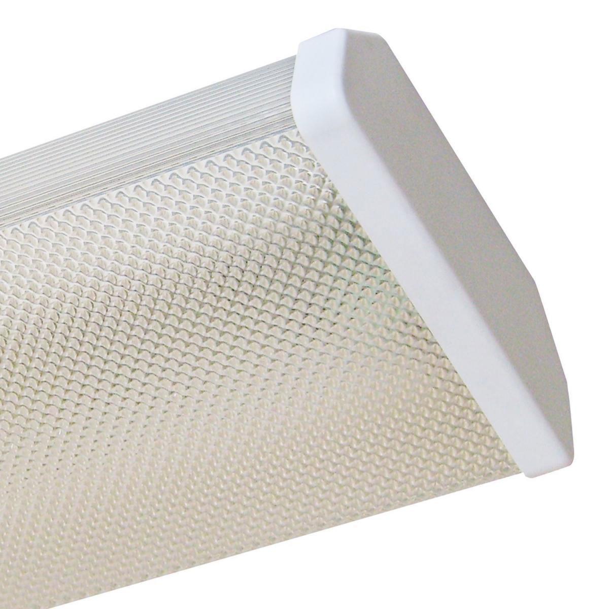 """Deckenleuchten - LED Wand Deckenleuchten """"Prisma 120"""", 122,7x16,4x5,9 cm 122,7x16,4x5,9 cm cm cm  - Onlineshop Hellweg"""