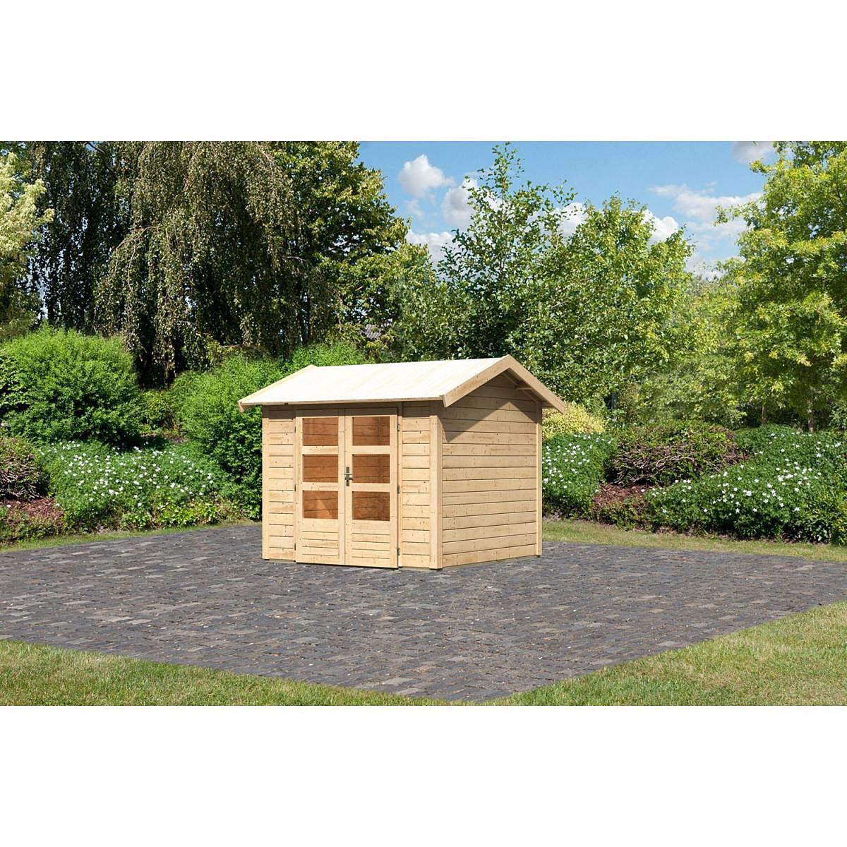 Woodfeeling Thor 3 Gartenhaus