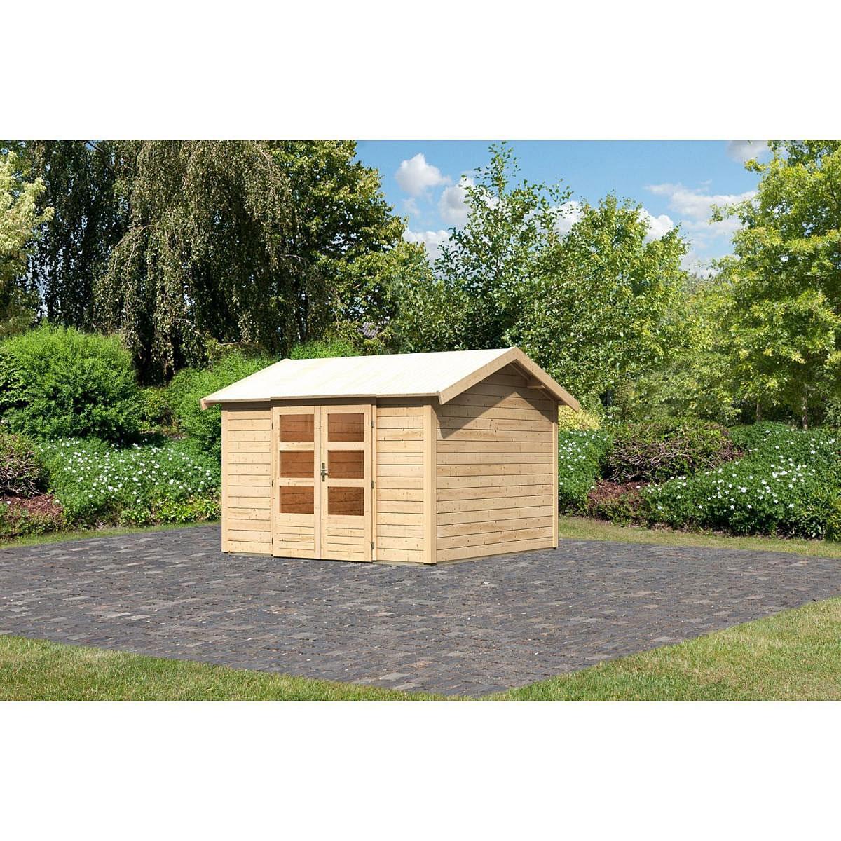 Woodfeeling Thor 7 Gartenhaus