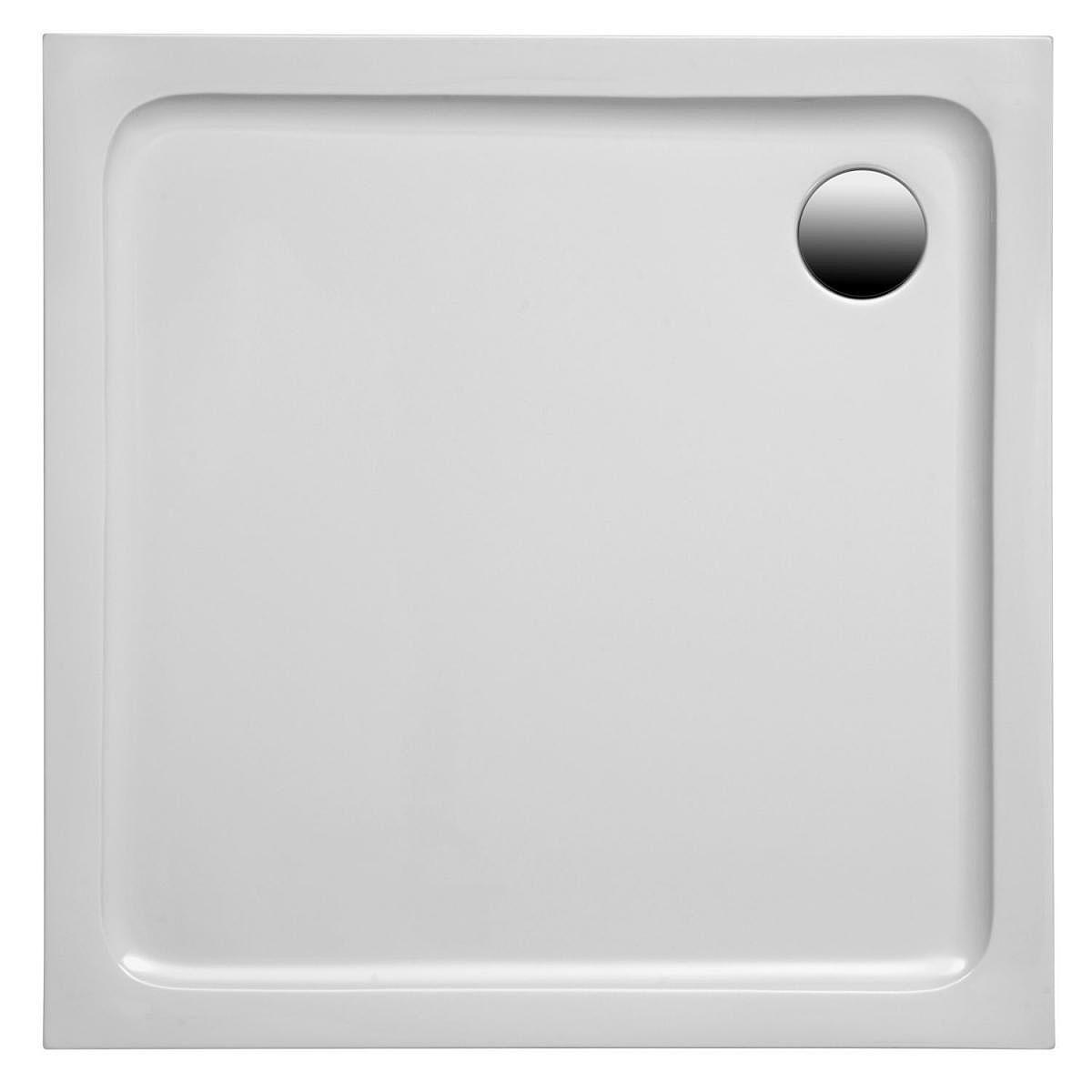Ottofond Duschtasse Rubi 80 x 80 x 3 cm, weiss 900803