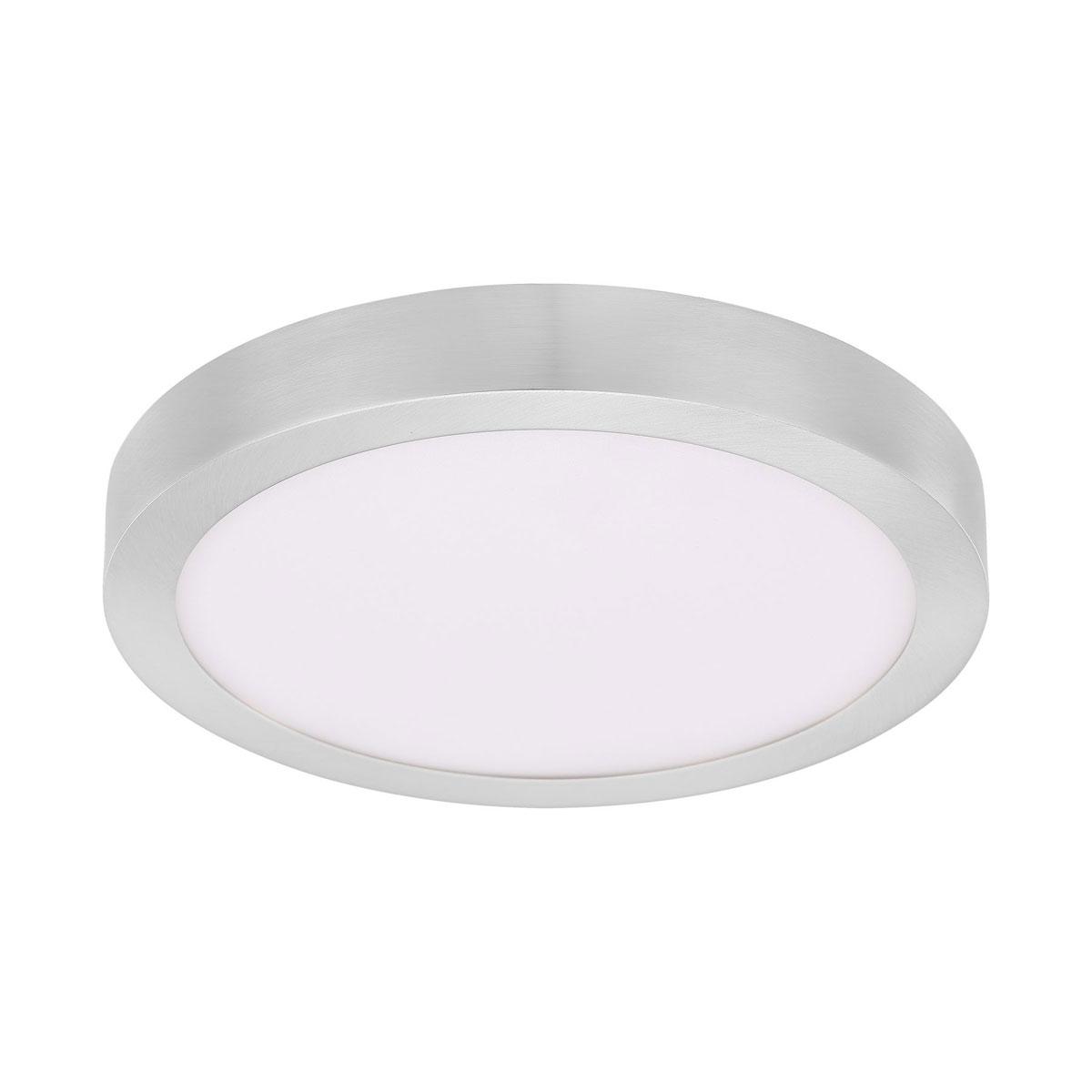 """Deckenleuchten - LED Deckenleuchte """"Fueva"""", Ø30cm, silber silber  - Onlineshop Hellweg"""