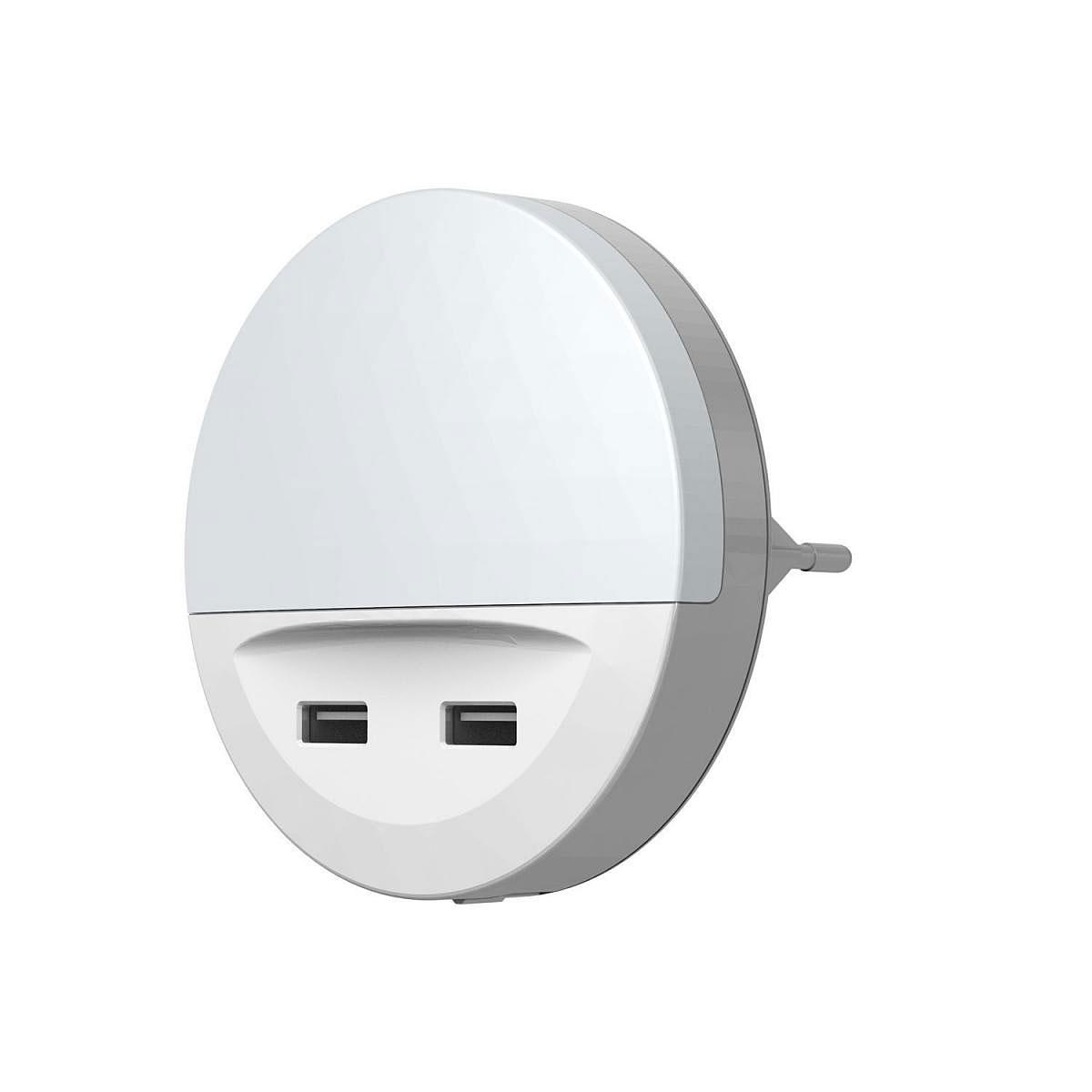 """Dekoleuchten - LED Nachtlicht """"Lunetta"""", USB, weiß  - Onlineshop Hellweg"""