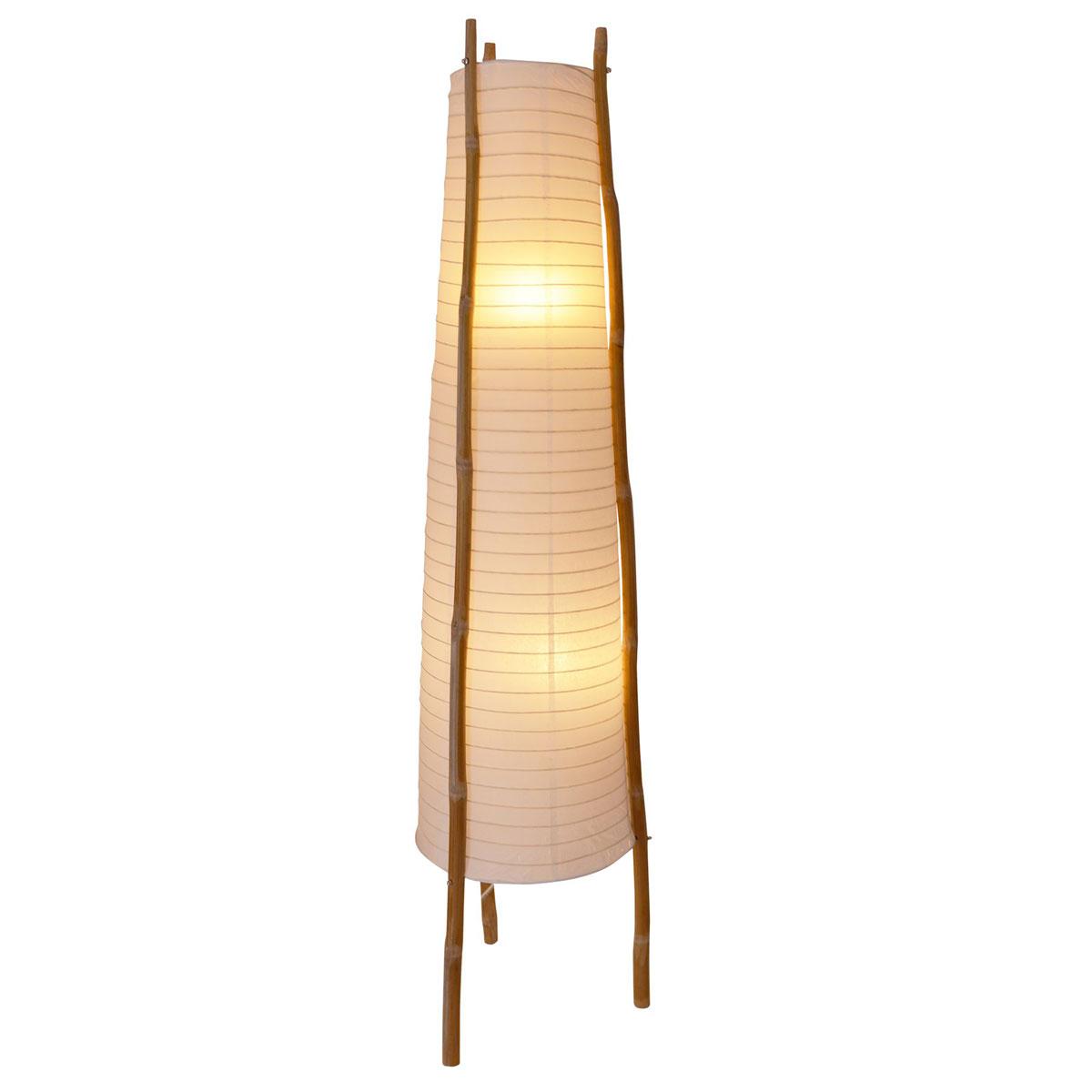 """Stehleuchten - Stehleuchte """"Bamboo"""", 124 cm  - Onlineshop Hellweg"""
