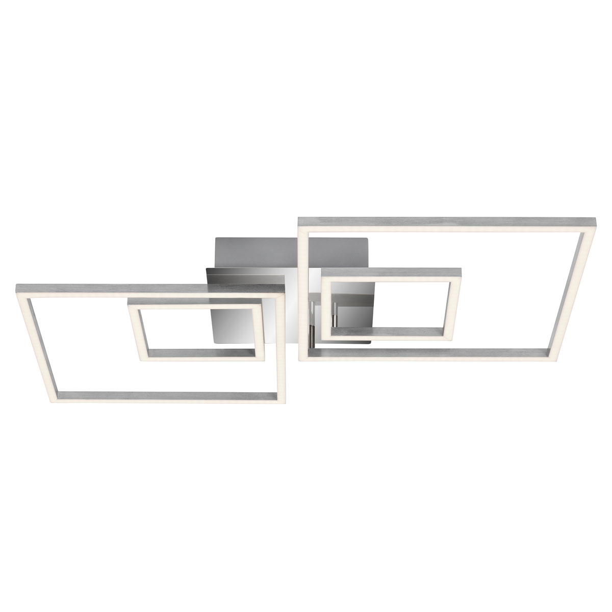 "Deckenleuchten - LED Deckenleuchte ""Frames"", drehbar, rechteckig, 66x52 cm  - Onlineshop Hellweg"