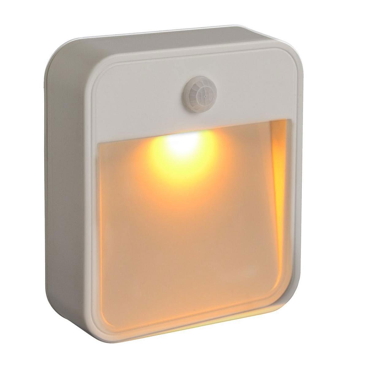 """Dekoleuchten - Nachtlicht Amber """"MB720A"""", 20 lm, weiß  - Onlineshop Hellweg"""