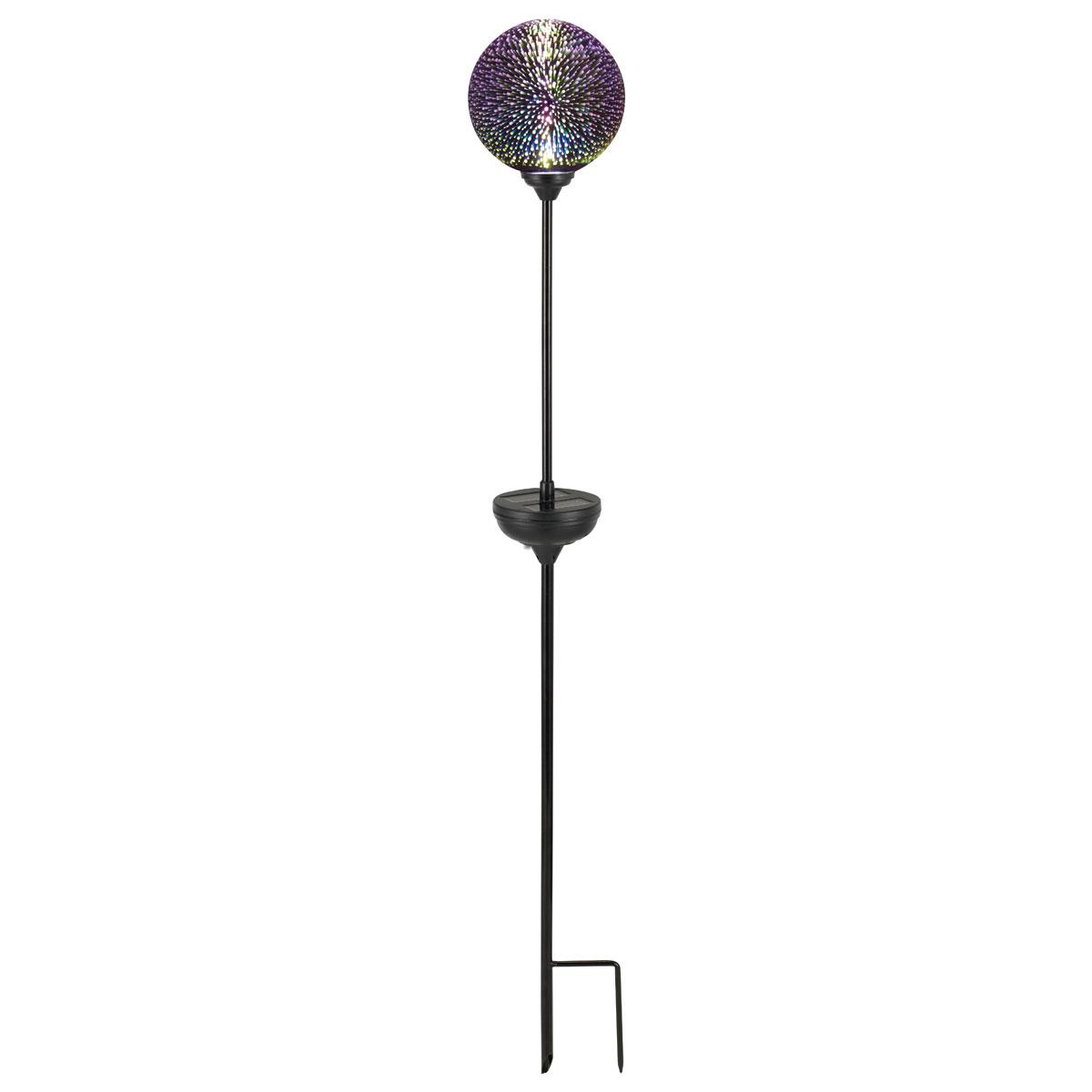 """Solarleuchten - LED Solarspie """"Orbit"""", silber  - Onlineshop Hellweg"""