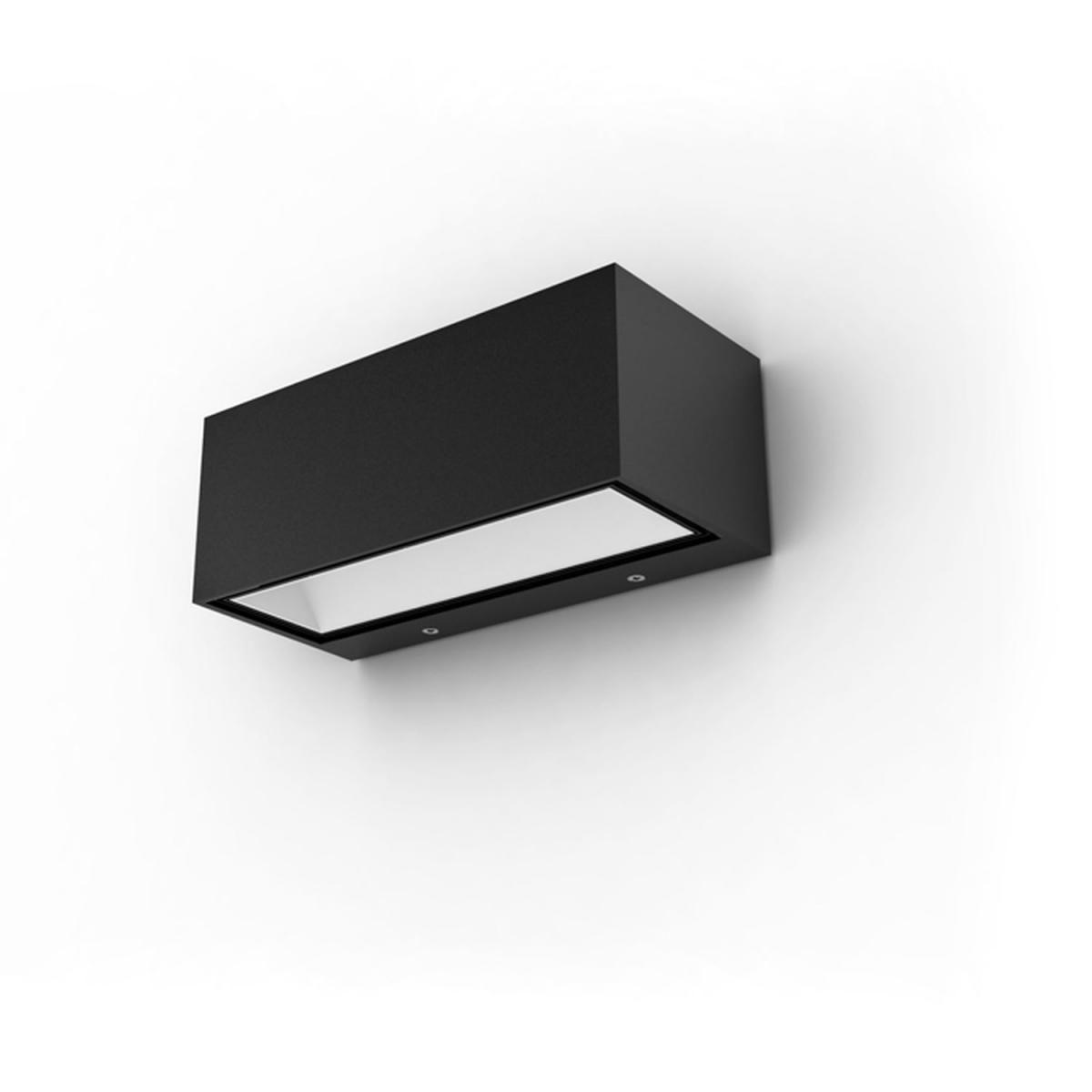 "Lutec LED-Außenwandlampe ""Gemini"", opal"