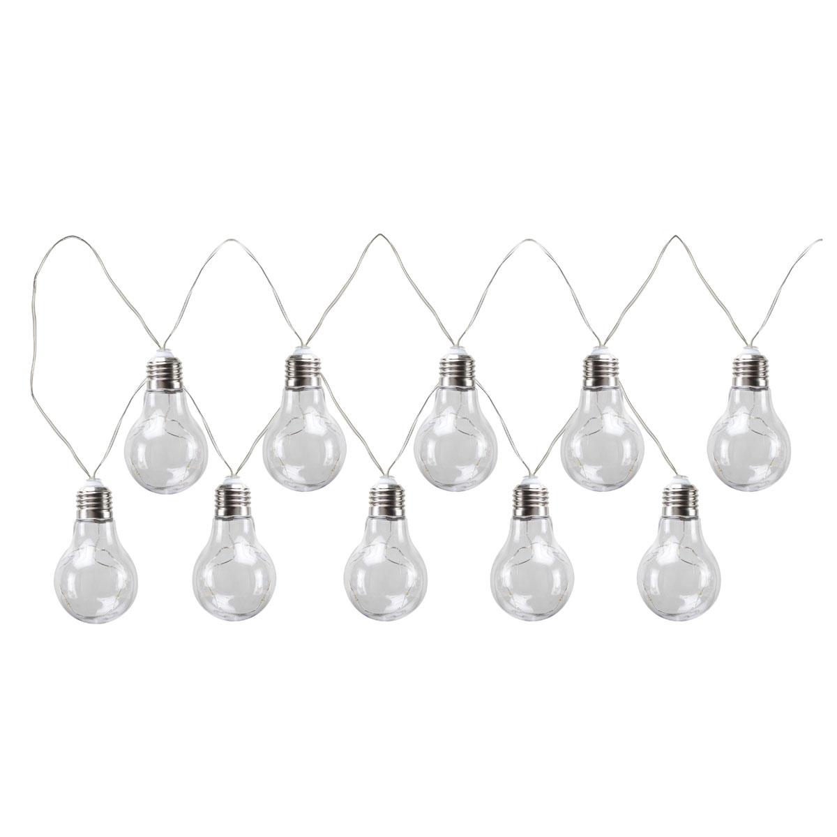 "Flector Garten LED-Solarlichterkette ""Glühbirne"""