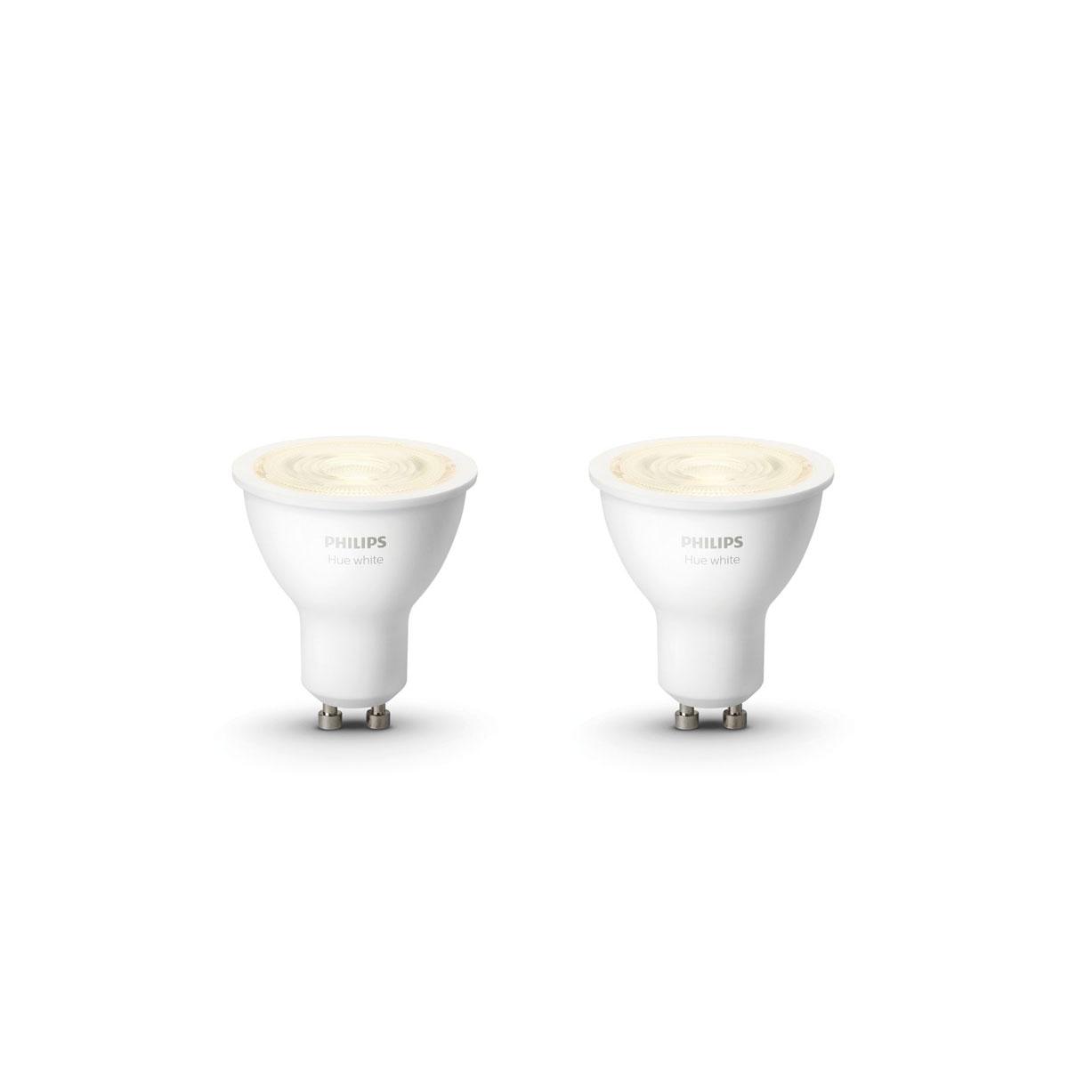 "Philips Hue LED-Reflektor ""White"", 5,2W, 2 Stück 2x LED-Reflektor"