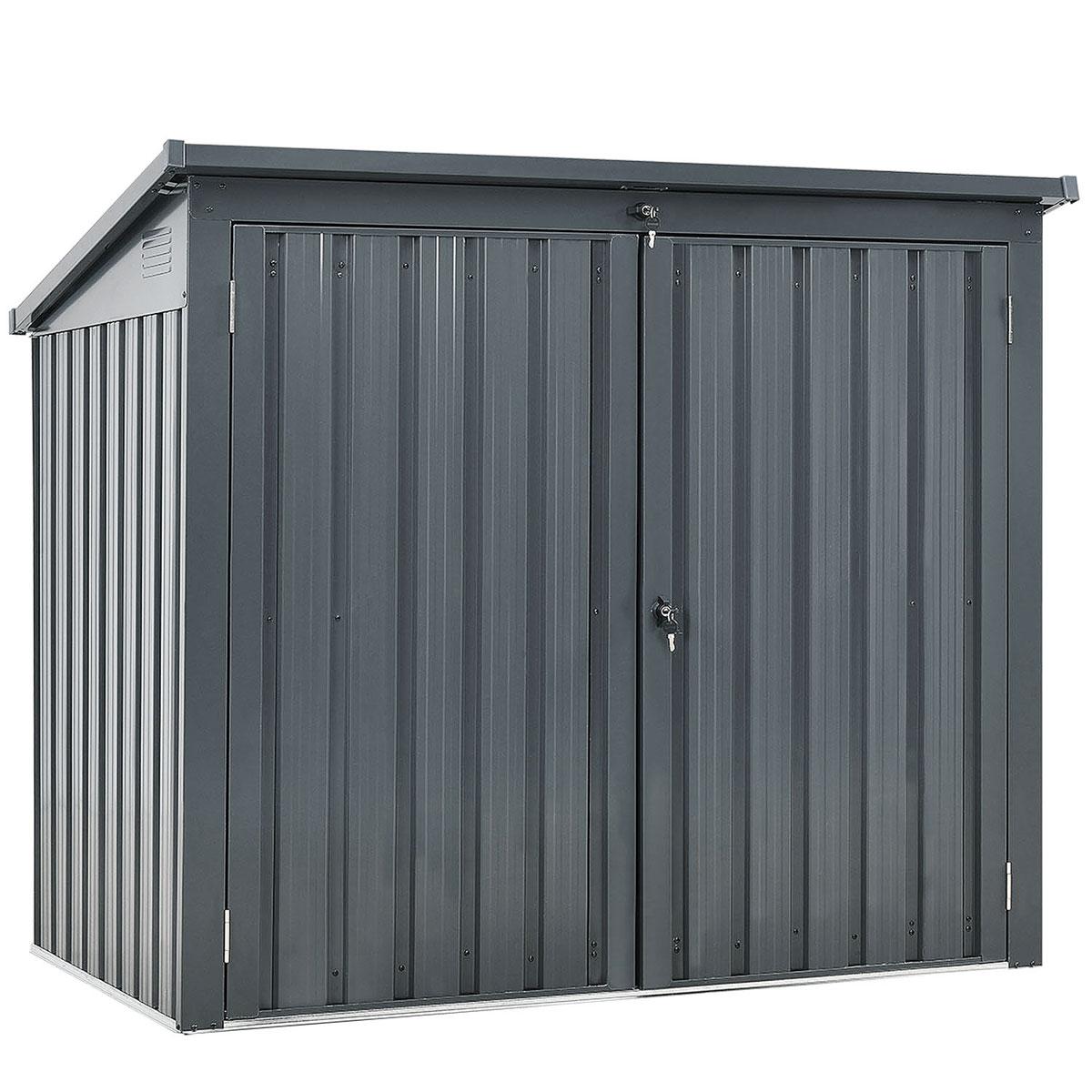 Durabil Mülltonnenbox für 2x240 L, Metall