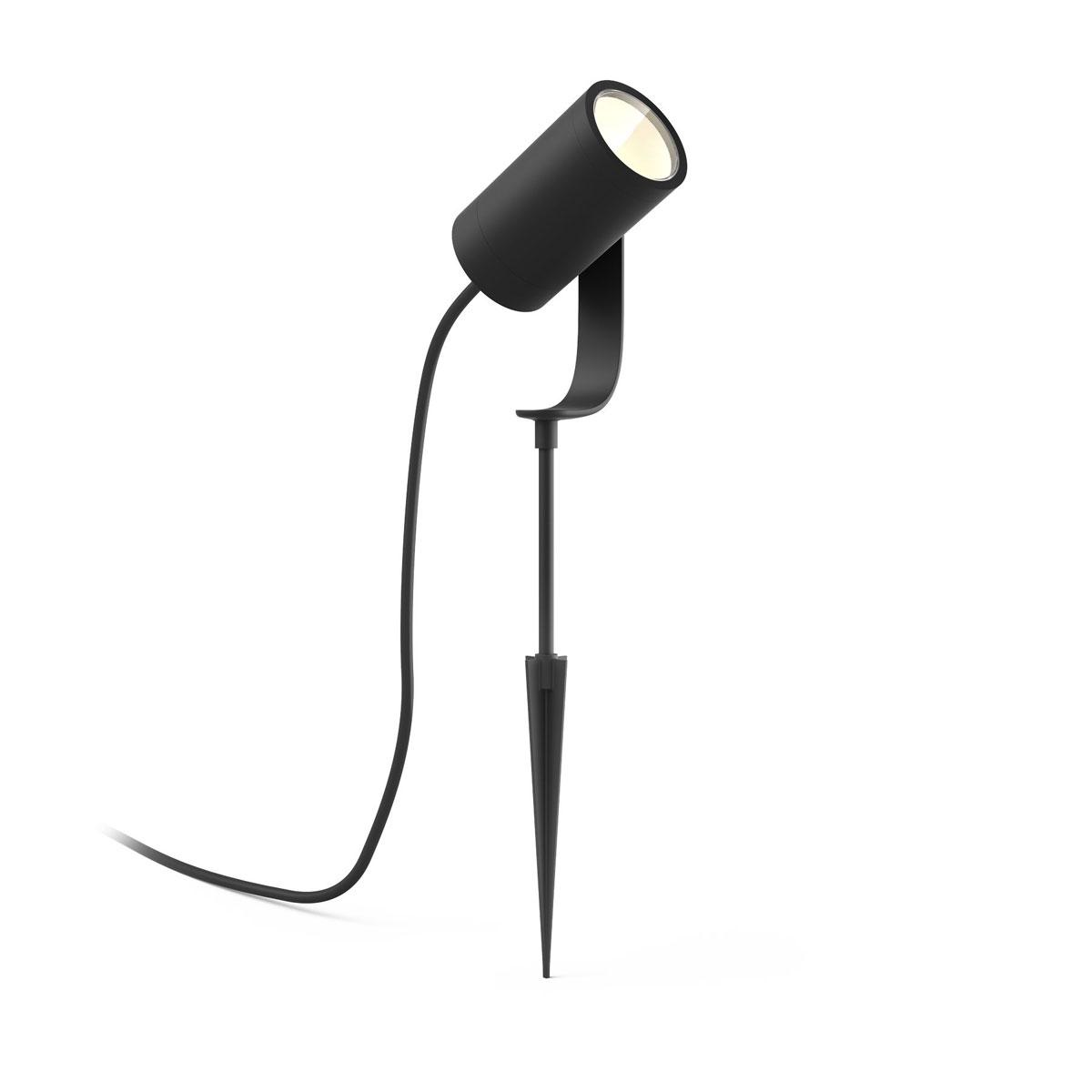 """Philips Hue LED-Außenleuchte """"Lily"""", 19,4x8,4x7cm, schwarz"""