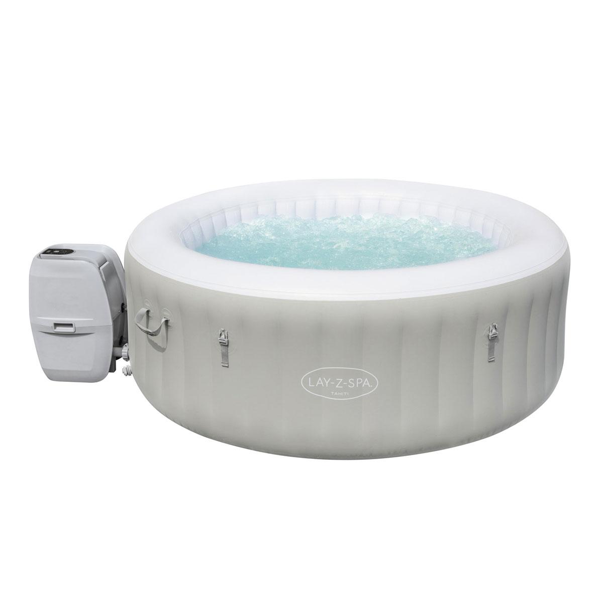 "Bestway Air-Jet Whirlpool ""Tahiti"", mit LED-Beleuchtung, 180x66 cm"