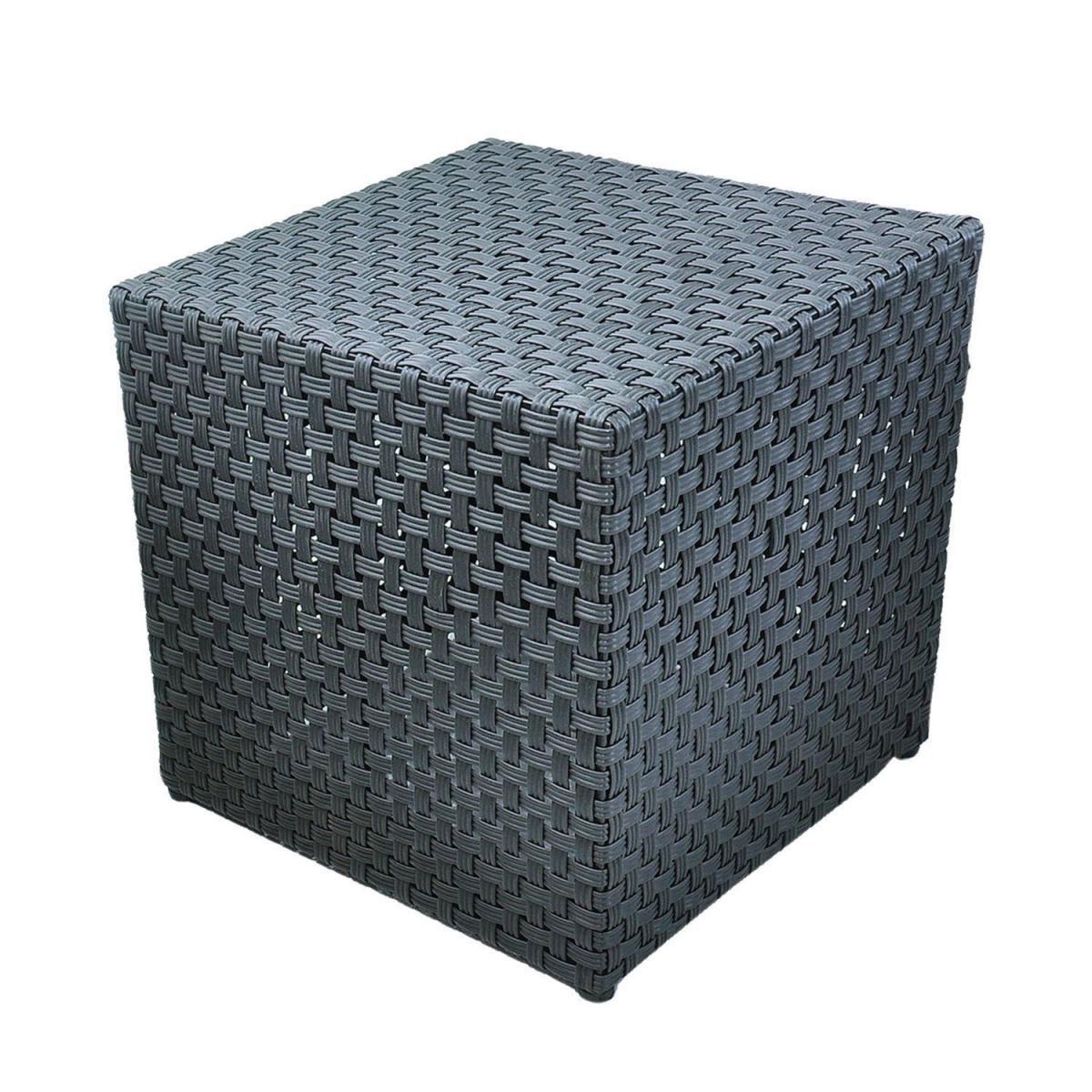 Gartenstühle - Sitzwürfel, 29x29x29cm, schwarz  - Onlineshop Hellweg