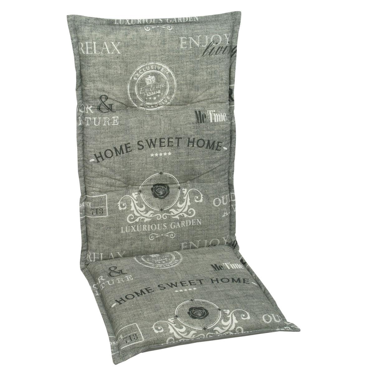 """Truhen und Auflagen - Sessel Auflage hoch """"Dessin 19219"""", 120 cm 120 cm  - Onlineshop Hellweg"""