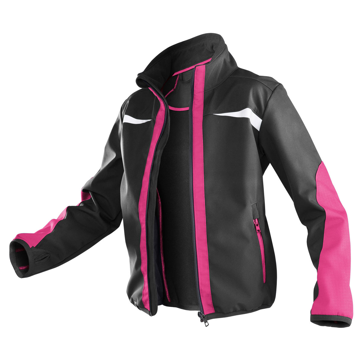 "Softshell Jacke ""Kidz"", pink, Gr.158-164 158-164"