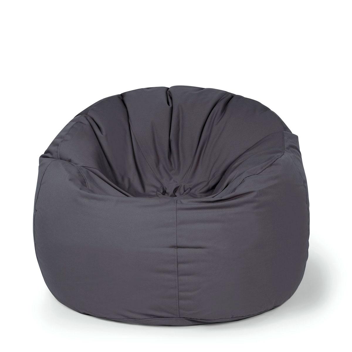 """Gartenstühle - Sitzsack Sessel """"Donut Plus"""", anthrazit  - Onlineshop Hellweg"""