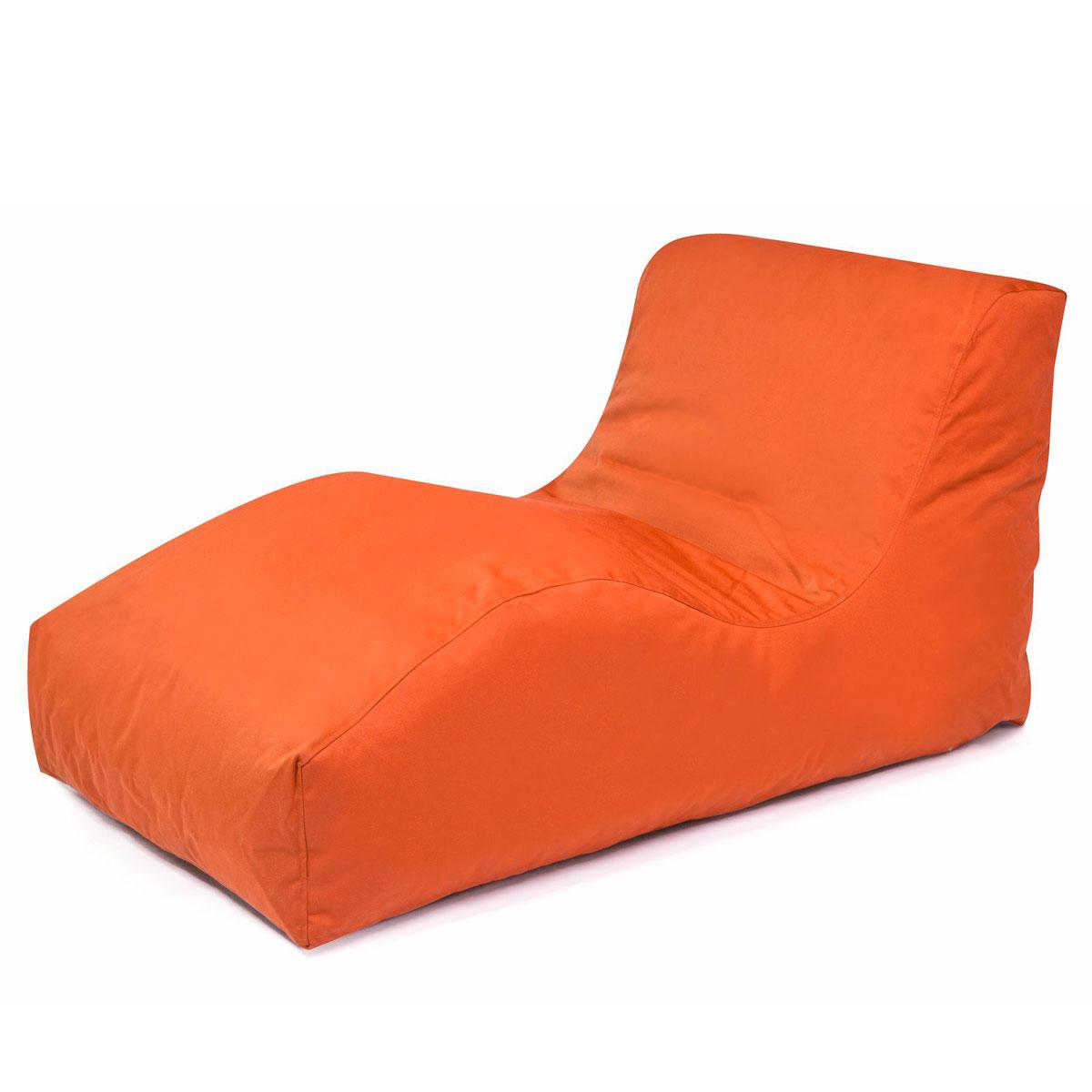 """Bänke und Liegen - Sitzsack """"Wave Plus"""", orange  - Onlineshop Hellweg"""