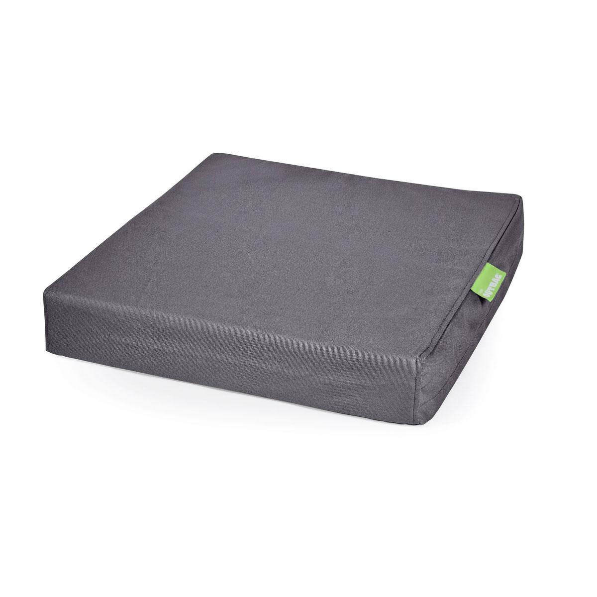 """Truhen und Auflagen - Sitzkissen """"Tile Square Pillow Plus"""", anthrazit  - Onlineshop Hellweg"""