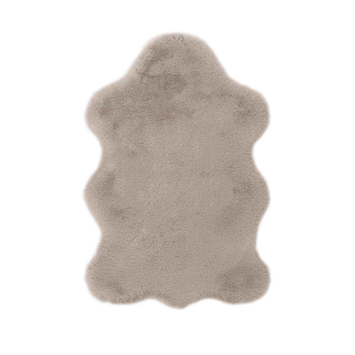 "Teppich ""Cingoli"" 55x80 cm, taupe taupe"