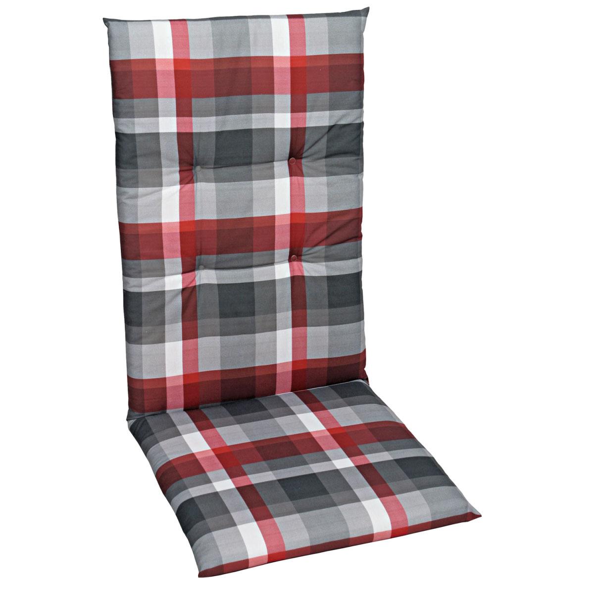 """Truhen und Auflagen - Sessel Auflage """"Dessin 15855"""", hoch, 118 cm 118 cm  - Onlineshop Hellweg"""