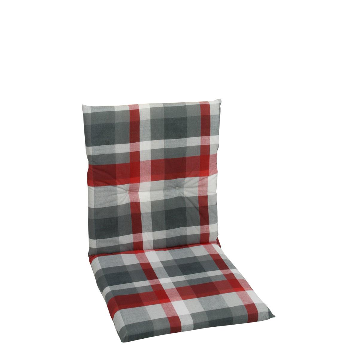"""Truhen und Auflagen - Sessel Auflage """"Dessin 15855"""", nieder, 100 cm 100 cm  - Onlineshop Hellweg"""