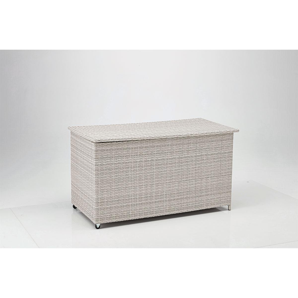 "Kissenbox ""Santorini"" 160x68x80 cm, naturfarben"