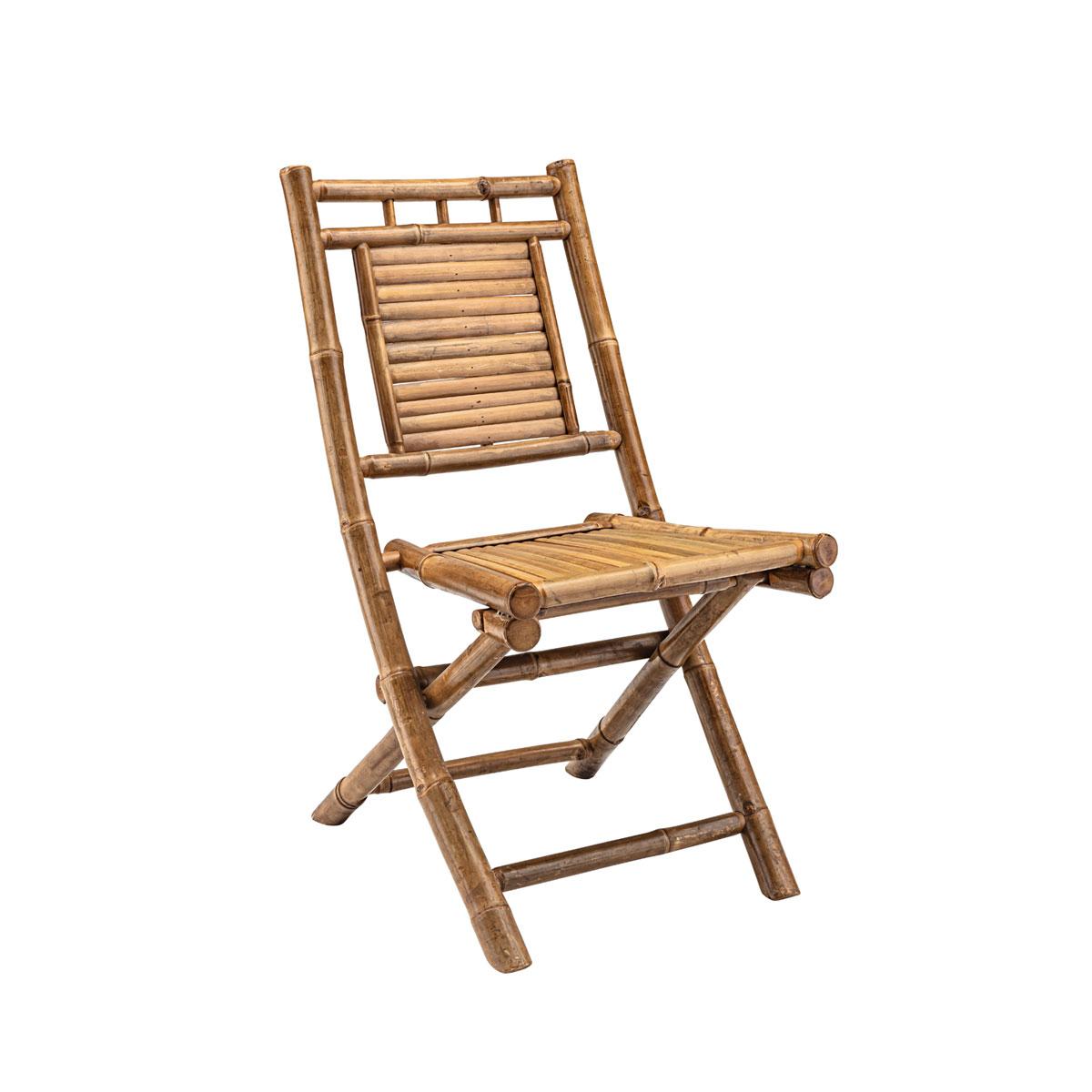 """Gartenstühle - Klappstuhl """"Laos"""" 45x85x60 cm, Bambus  - Onlineshop Hellweg"""