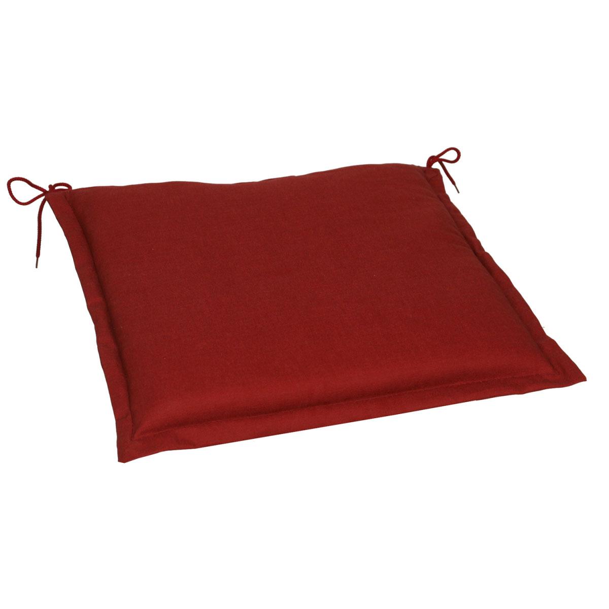 """Truhen und Auflagen - Kissen """"Dora 20323"""", 45x47x5 cm, rot rot  - Onlineshop Hellweg"""