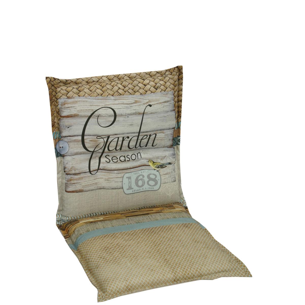 """Truhen und Auflagen - Sesselauflage """"Garden Season"""", nieder, 100 cm 100 cm  - Onlineshop Hellweg"""
