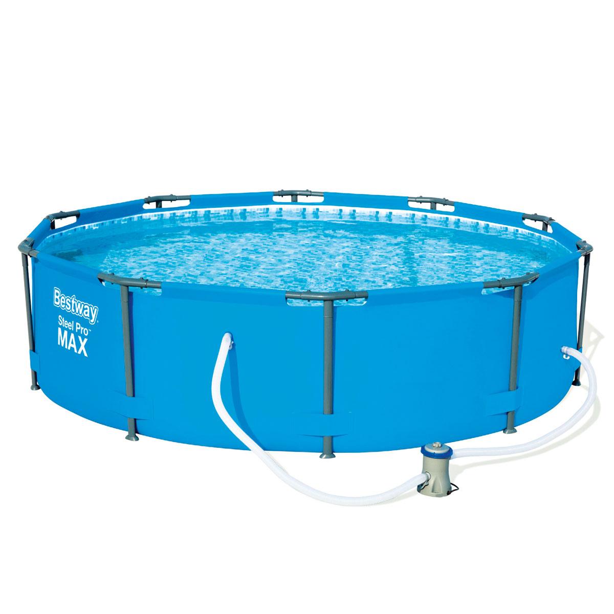 """Pools und Schwimmbecken - Pool Set """"Steel Pro max"""" 305x76 cm  - Onlineshop Hellweg"""