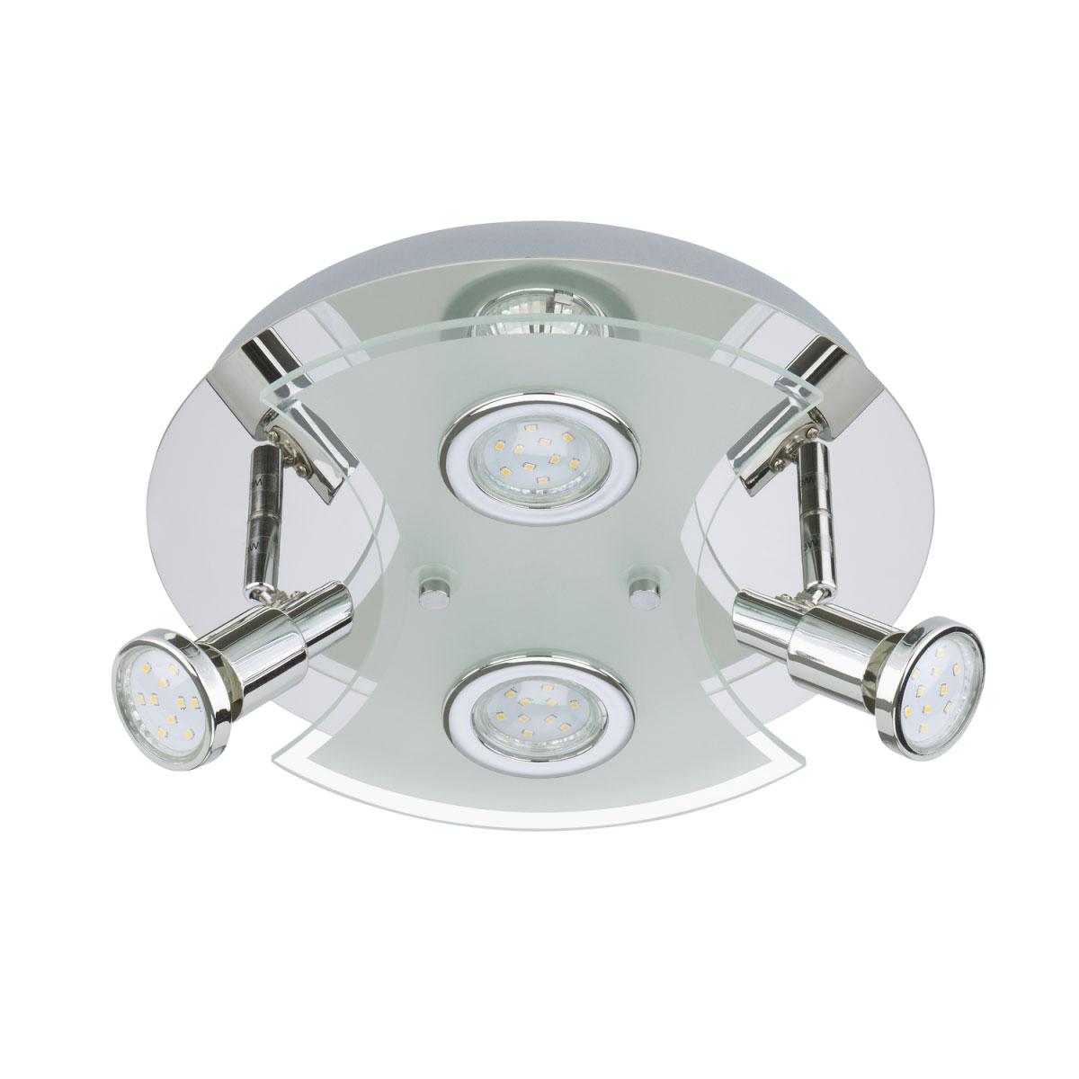Deckenleuchten - LED LED Deckenleuchte, 4 fach  - Onlineshop Hellweg