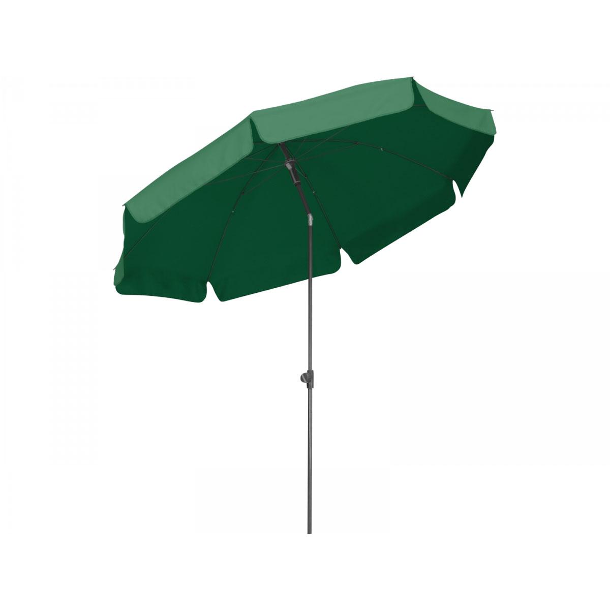 Schutzhülle für Sonnenschirm 4m mit Reißverschluss grün Länge 2,30m robust
